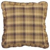 "Prescott 16""x16"" Ruffled Fabric Pillow"