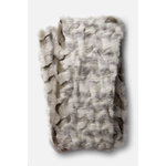 """Loloi Rugs - Zora Throw Blanket, Gray, 4'2""""x5' - The Zora Throw Blanket is a thick, luxuriously soft throw perfect for cool evenings. This piece is machine-woven of 100% acrylic."""