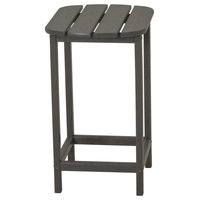 """POLYWOOD South Beach 26"""" Counter Side Table in Slate Grey"""