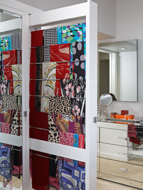 Scarf Storage Ideas, Pictures, Remodel and Decor