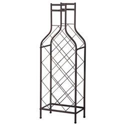 Industrial Wine Racks by Pilaster Designs
