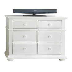 Emma Mason Signature River Banks Media Chest Oyster White LIB0587