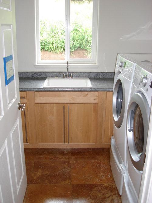 modern laundry room flooring | Best Modern Laundry Room with Terra-Cotta Floors Design ...