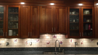 Dragon Tile Backsplash