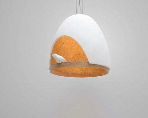 Lame Oiseau - Suspension Luminaire