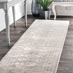 """Bay - Molly Rae Runner, Sand, 2'6""""x8' - Hall and Stair Runners"""