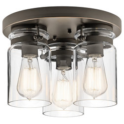 Industrial Flush-mount Ceiling Lighting by Transolid