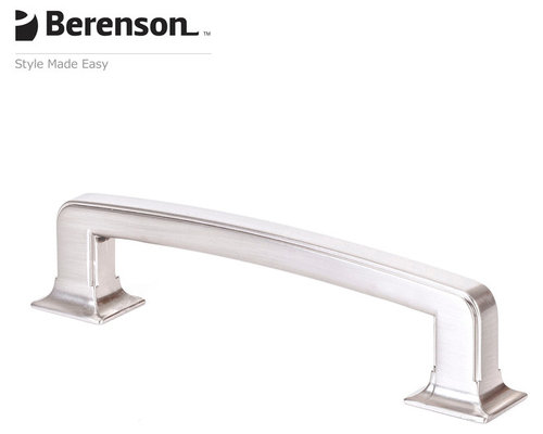 20401bpnp brushed nickel cabinet pull by berenson cabinet and drawer handle