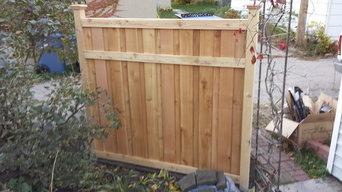 Susan Losacker - Cedar Privacy Fence