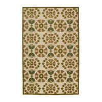 """Kaleen A Breath of Fresh Air Collection Rug, Olive, 5'x7'6"""""""