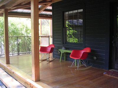 Contemporary Porch Sambo House in Atlanta by Becky Harris