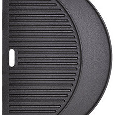 Aura Outdoor Products - Half Moon Cast Iron Reversible Griddle - Grill Tools & Accessories