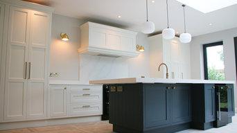 Custom In-Frame Two-tone Kitchen, Saggart