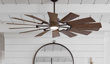 Indoor and Outdoor Ceiling Fans With Free Shipping