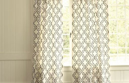 Firenze Embroidered Panel Curtain