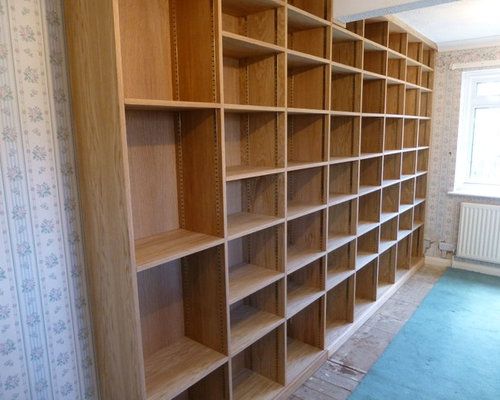 Custom Made Bookcase With Moveable Shelves - Bookcases
