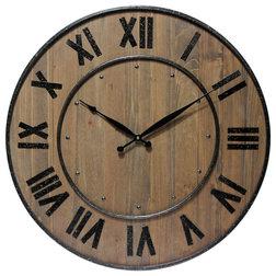 Farmhouse Wall Clocks by Infinity Instruments, Ltd.