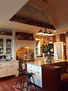 Trim and doors are semi gloss, should kitchen cabinets be ...