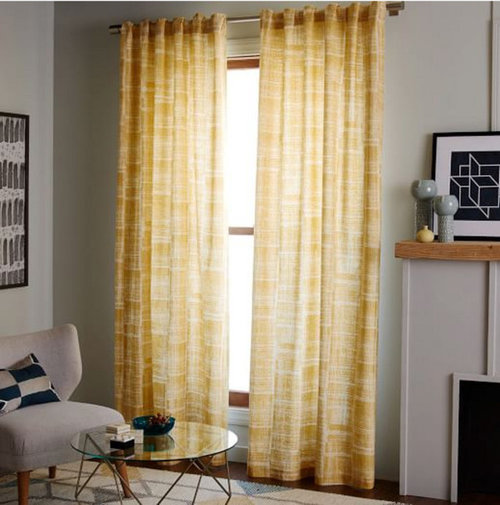 Curtain Rod Placement No Window Casing