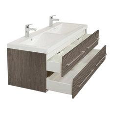 - Waschtisch Waschbecken weiss - Waschtische