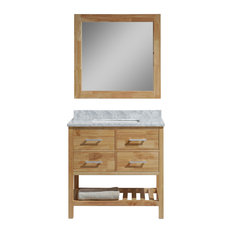 oak bathroom vanities | houzz