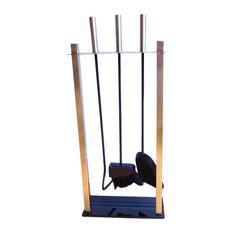 Whistler 4-Piece Fireside Tool Companion Set