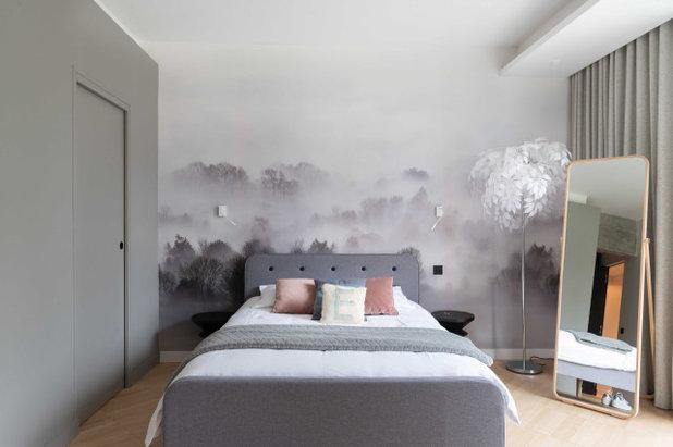 Современный Спальня by AM GROUPE