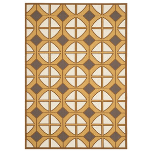 Loloi Venice Beach Vb 19 Outdoor Rug Brown Beige