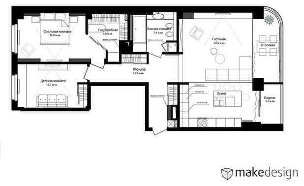 Внутренний план by MAKEdesign