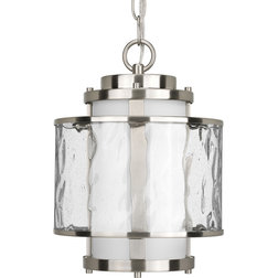 Transitional Outdoor Hanging Lights by Lighting New York