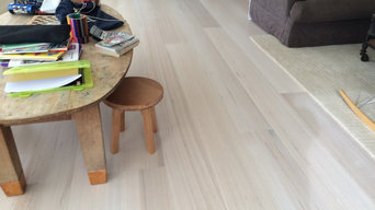 White wash Tas oak timber flooring