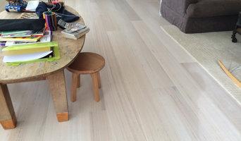 White wash Tas oak timber flooring