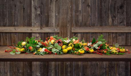 Herbstliche Tischdeko zum Selbermachen