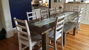 Custom Reclaimed Dinning table