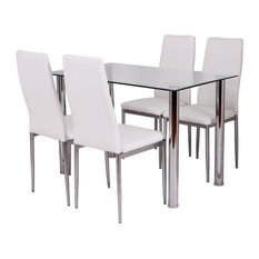 Imtinanz   Modern Dining Set With A Simple Design, 5 Piece Set   Dining Sets
