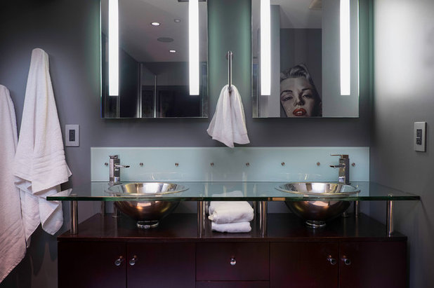 Luxury Modern Bathroom by The Phoenix Photography