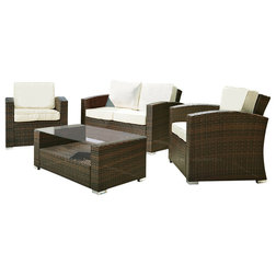 Fresh Tropical Outdoor Lounge Sets by VirVentures