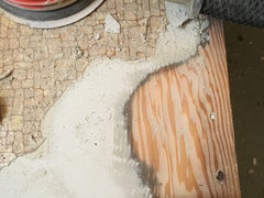 Unwittingly Removed Asbestos Floor Tiles Whats The Deal - Dangers of vinyl flooring
