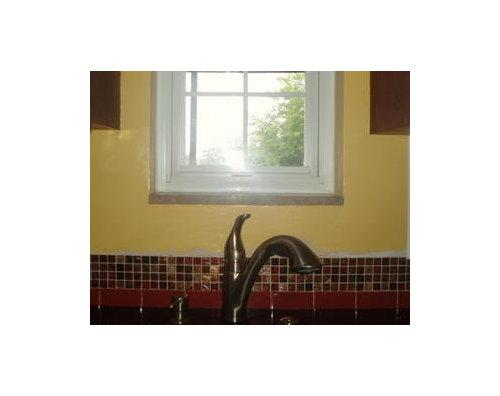 Backsplash Dilemma What To Do Around Window