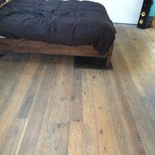 Old baltic pine floor