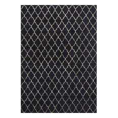 Chifa Rug, Silver/Black, 170x240 cm