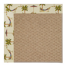 Capel Custom - Creative Concepts 1992 Border 1992 - 4ft 0in x 4ft 0in Raffia/Way
