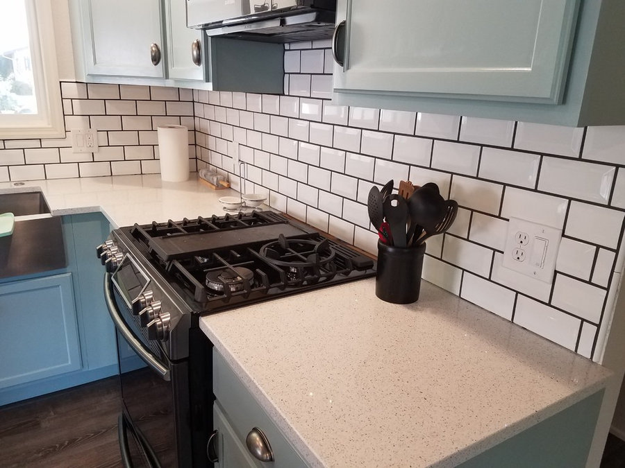 70's DIY Kitchen Remodel