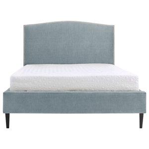 Scarlett Bed, Wedgewood, Euro King