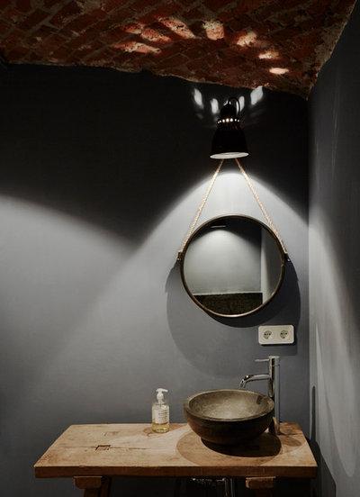 Industrial  Badezimmer by Anja Lehne interior design