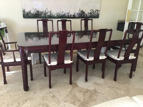 Help Chinese Rosewood Dining Table