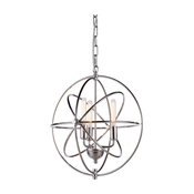 1453 Vienna Collection Pendant Lamp, Polished Nickel