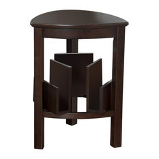 Exceptional Ashley Furniture Homestore   Larimer Triangle End Table, Dark Brown   Side  Tables And End