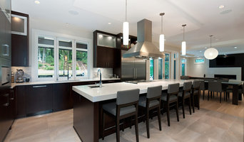 West Coast Forested Open Kitchen Concept
