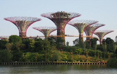 Architectural Wonders: Postcards From Singapore